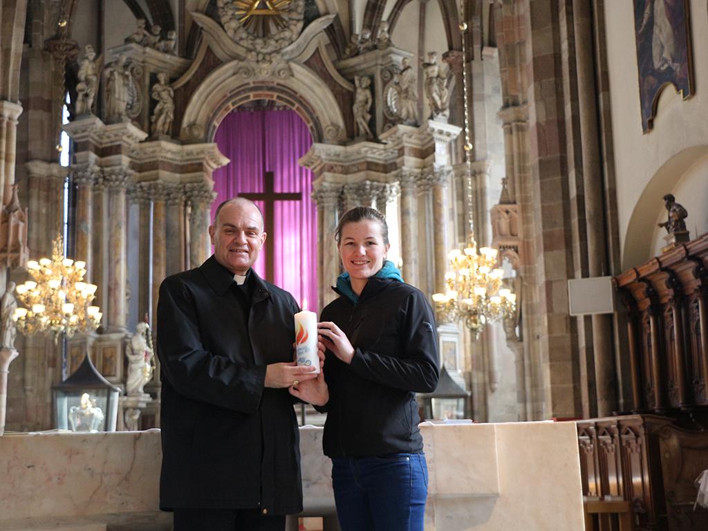 Fastenaktion – eine Kerze für jede Pfarrei